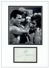 Joe Bugner Autograph Signed Display